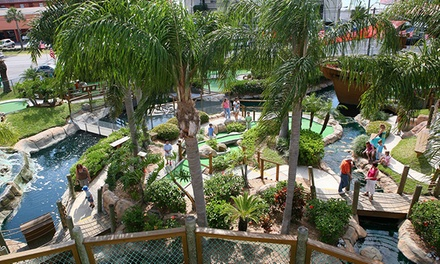 $14 for One Round of Mini Golf for Two at Smuggler's Cove (Up to $25.98 Value)
