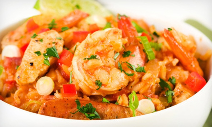 Blue Bayou Bar & Grill - Lakeview: Cajun Food at Blue Bayou Bar & Grill (Up to 52% Off). Two Options Available.