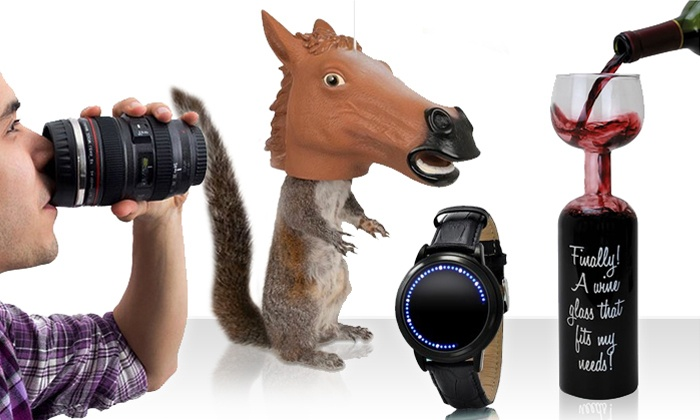 GadgetsAndGear.com: $15 for $30 Worth of Gadgets, Toys, Gag Gifts, Party, and Holiday Gifts from GadgetsAndGear.com
