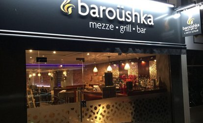 Two-Course Lebanese Feast for Two or Four at Baroushka (Up to 59% Off)
