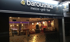 Baroushka!: Two-Course Lebanese Feast for Two or Four at Baroushka (Up to 59% Off)
