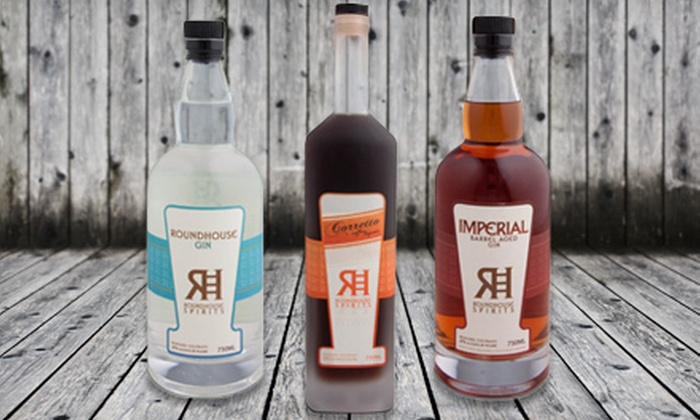 Roundhouse Spirits - Vapor Distillery: Artisan-Crafted Spirits for Two or Four at Roundhouse Spirits (Half Off)
