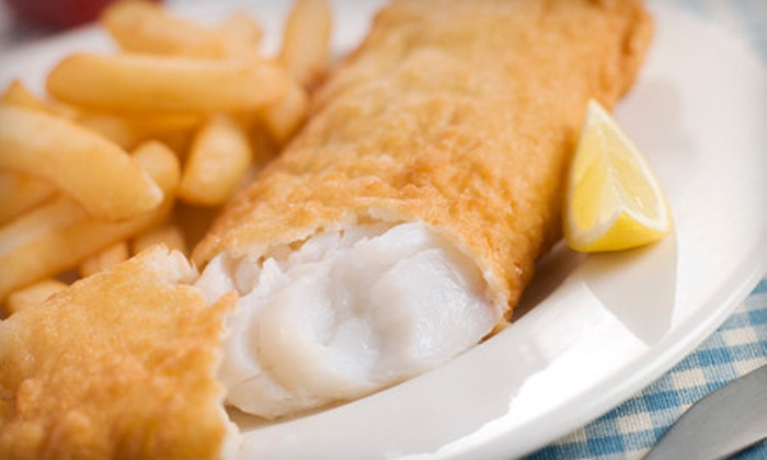 London Best Fish & Chip - Placerville: Seafood for Two or Four at London Best Fish & Chip (Half Off)