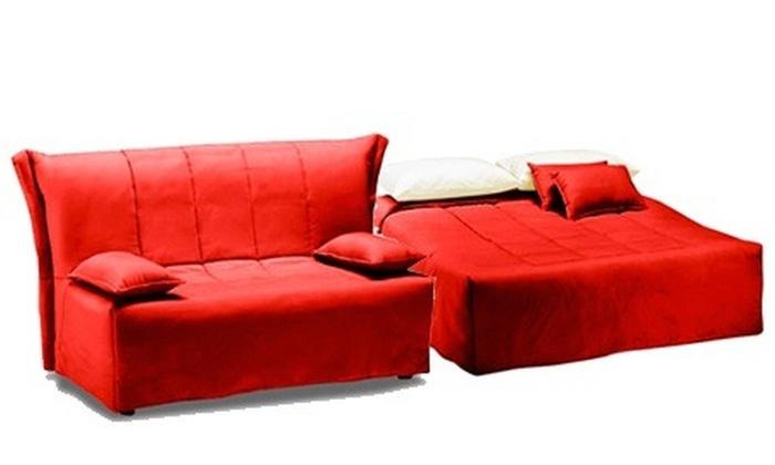 Divano letto cedro in 6 colori groupon goods for Groupon divani