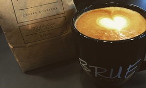 Brue Coffee: $10 for Two Groupons, Each Good for Coffee and a Pastry ($14.58 Value)