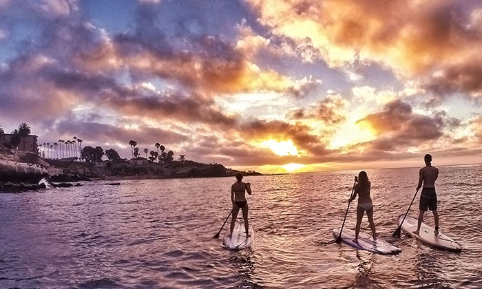 SUP California - Pacific Beach: All Day Stand-up Paddleboard Rental for Two at SUP California (50% Off)