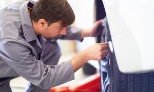 Al Wathba Tyre and Wheel Alignment: Complete tyre maintenance for sedans or 4x4s at Al Wathba Tyre and Wheel Alignment (Up to 57% Off)