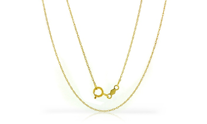 gold links rolo chain chains product hopelockets small