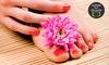 Felicitá Beleza e Spa - Brasília: Felicitá Beleza e Spa – Taguatinga Norte: 1 ou 2 visitas de manicure + 1 de pedicure