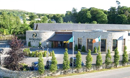 Co. Donegal: 1 or 2 Nights for Two with Full Irish Breakfast at An Grianan Hotel and Old Church Visitors Centre Entry