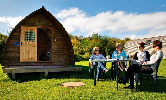 Northumberland: 2- or 3-Night Wigwam Stay for Two at Pot-a-Doodle Do Wigwam Village