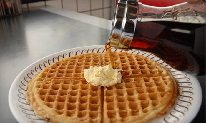 Waffle House - Multiple Locations: Diner Fare at Waffle House (Half Off). 20 Locations Available.