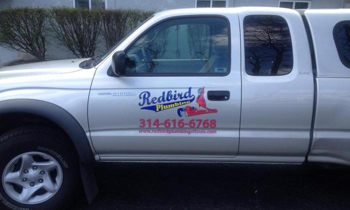 Redbird Plumbing - St Louis: $110 for $200 Groupon — Redbird Plumbing