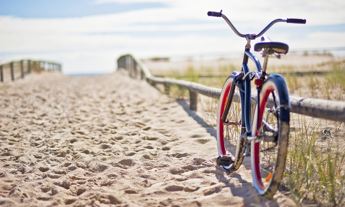 Big Shell Bikes - Port Aransas: 8-Hour Electra Beach Cruiser Bike Rental for One or Two from Big Shell Bikes (Up to 60% Off)