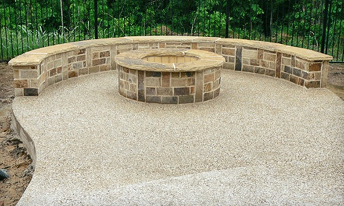 Complete Outdoor Concepts - Frisco: $1,499 for a Custom-Built Stone Fire Pit from Complete Outdoor Concepts ($4,000 Value)
