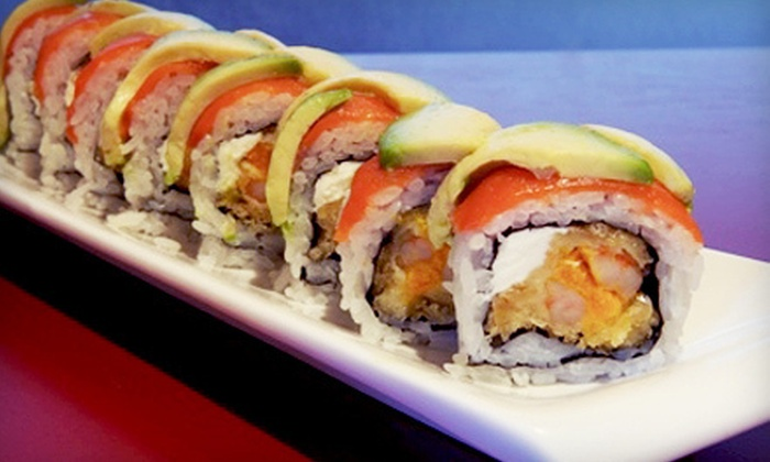 Gen Sushi - Gen Sushi: Sushi Meal for Two or Four at Gen Sushi in North Vancouver (Up to 54% Off)