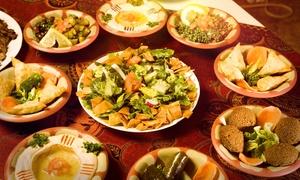 Restaurant Nour: Orientalischer Sonntagsbrunch für Zwei oder Vier im Restaurant Nour ab 10,90 € (bis zu 50% sparen*)