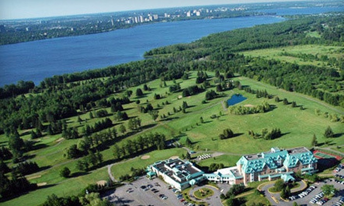 Château Cartier Hôtel Conférence Golf & Spa - Chateau Cartier Golf - Gatineau, QC: 18 Holes of Golf for Two or Four at Château Cartier Golf Club in Gatineau (Up to 55% Off)