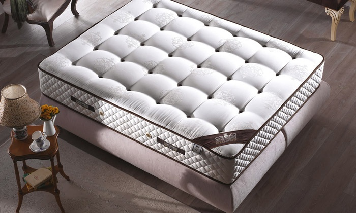 matelas diamant m moire de forme groupon shopping. Black Bedroom Furniture Sets. Home Design Ideas
