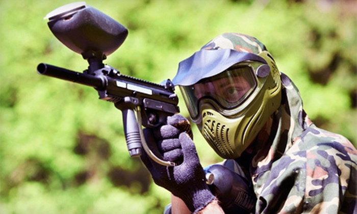 Jungle Island Paintball Park - Alberhill District: Paintball Outing for One, Two, or Four or One Admission to Jungle Island Paintball Park (Up to 66% Off)