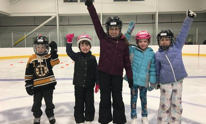 image for Public <strong>Ice Skating</strong> Session or Birthday Party at New England Sports Village (Up to 46% Off)