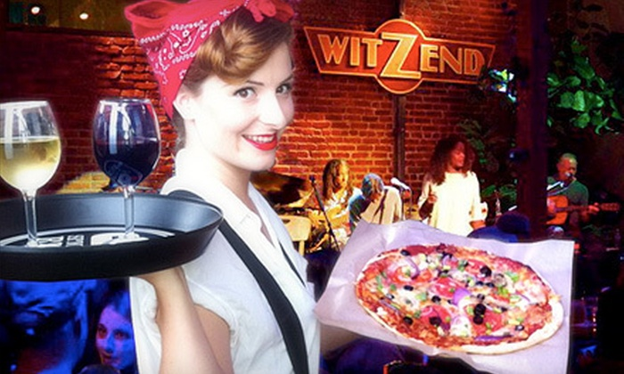 Witzend - Venice: Live Entertainment for Two or Four and American Food at Witzend (50% Off)