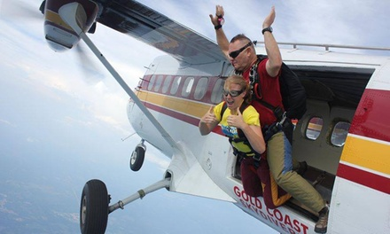 Up to 44% Off Tandem Skydive and AFF Training at Gold Coast Skydivers