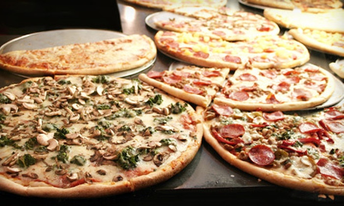 FDB Eatery - Falls Church: $10 for $20 Worth of Pizza, Sandwiches, and Custard for Dine-In at Frozen Dairy Bar and Boardwalk Pizza