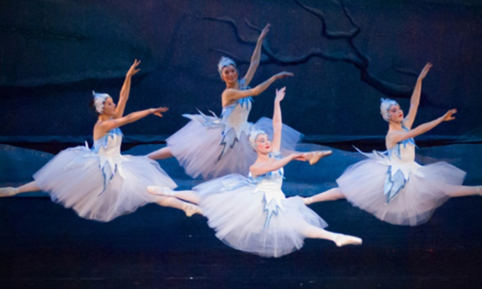 """""""The Nutcracker"""" presented by California Ballet - San Diego Civic Theatre: California Ballet's """"The Nutcracker"""" at the San Diego Civic Theatre (Up to 52% Off). 20 Options Available."""