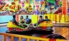 Party Zone USA - Mechanicstown: Amusement Rides, Soft Play, and Lazer Runner for Two or Four at The Party Zone USA (Up to 64% Off)