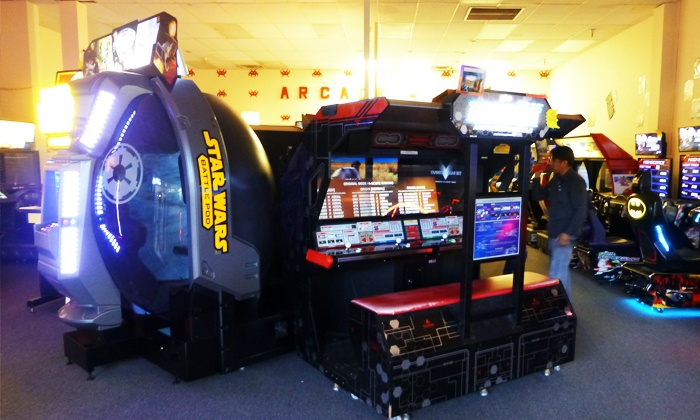 The Game Grid Arcade - In Valley Fair Mall: $12 for Two Groupons, Each Good for 40 Tokens at The Game Grid Arcade ($20 Value)