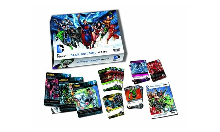 DC Comics Deck-Building Game: DC Comics Deck-Building Game. Free Returns.