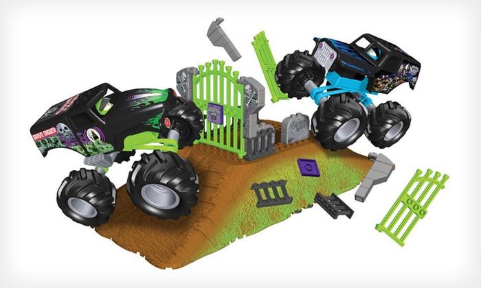 K'Nex Monster Jam Truck Set: $6 for a K'Nex Grave Digger vs. Son-Uva Digger Truck-Building Set ($25.99 List Price)