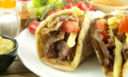$12 for $20 Worth of Mediterranean Food at North Beach Gyros