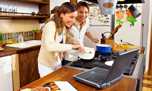 Smart Kitchen: 6 or 12 Months of Online Cooking Classes from Smart Kitchen (Up to 71% Off)