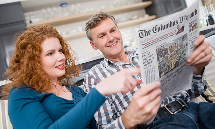 Home Delivery and Digital Access from the Columbus Dispatch (Up to 84% Off). Five Options Available.