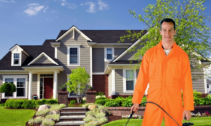 Erdye's Pest Control - Green Bay: One, Two, or Three Exterior Treatments from Erdye's Pest Control (Up to 61% Off)