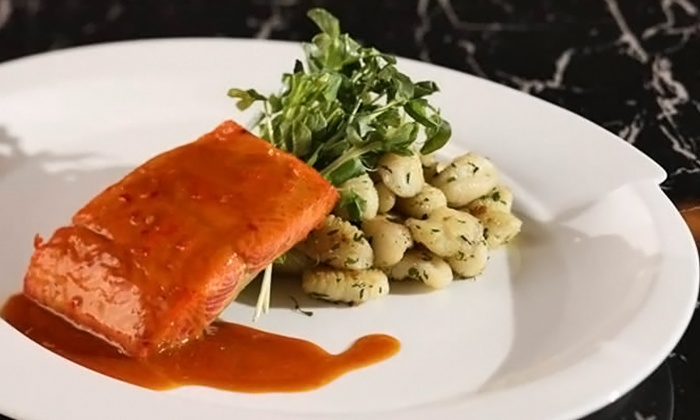 Tivoli's Restaurant - Executive Suites Hotel, Burnaby: Upscale Italian Cuisine for Lunch or Dinner for Two at Tivoli's Restaurant (Up to 50% Off)