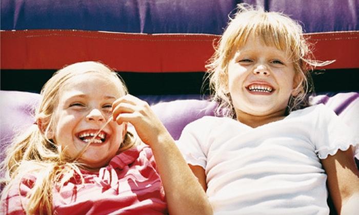 Jumpin' Jax Bounce & Party - Papillion Second II: $25 for 10 Kids' Open-Bounce Visits to Jumpin' Jax Bounce & Party in Papillion ($55 Value)