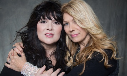 Heart with Joan Jett & The Blackhearts and Cheap Trick on August 18 at 6:30 p.m.