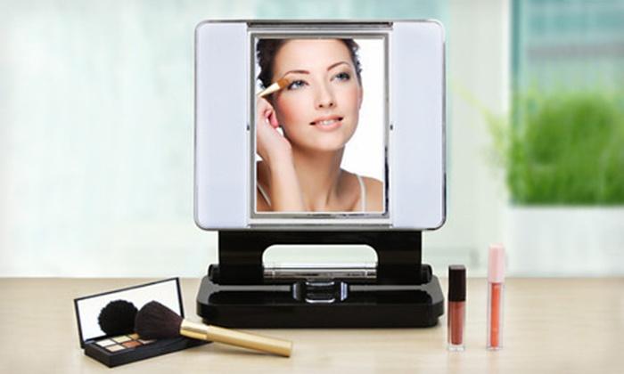 OttLite Natural Makeup Mirror : $35 for an OttLite Natural Makeup Mirror ($99.99 List Price)