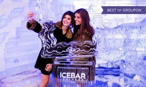Icebar: Admission for One or Two to Arctic-Themed-Bar Entry with Drink and Appetizers at Icebar (Up to 43% Off)