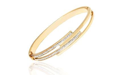 Crystal Bracelet Made with Swarovski Elements