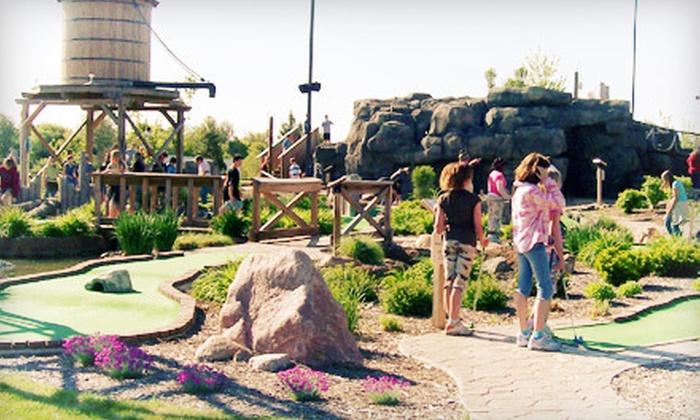 Stone Mountain Family Fun Center - Raisin: $15 for Four Rounds of Mini Golf at Stone Mountain Family Fun Center in Tecumseh (Up to $30 Value)