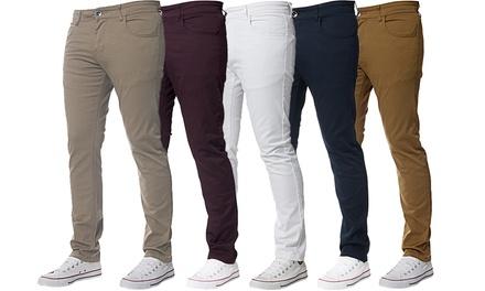 Jean style chino de la marque Kruze jeans pour Homme