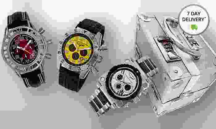 Equipe Corvette or Mustang Watches: Equipe Corvette or Mustang Watches. Multiple Styles Available. Free Returns.
