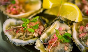 No Coast Reserve: Fresh Seafood & Local Fare at No Coast (Up to 44% Off). Two Options Available.