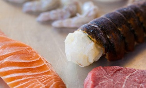 Tokyo Japanese Steakhouse: $10 for $22 Worth of Japanese Cuisine at Tokyo Japanese Steakhouse and Sushi Bar