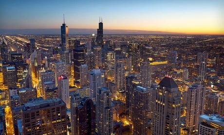 4-Star Crowne Plaza amid Chicago Skyline
