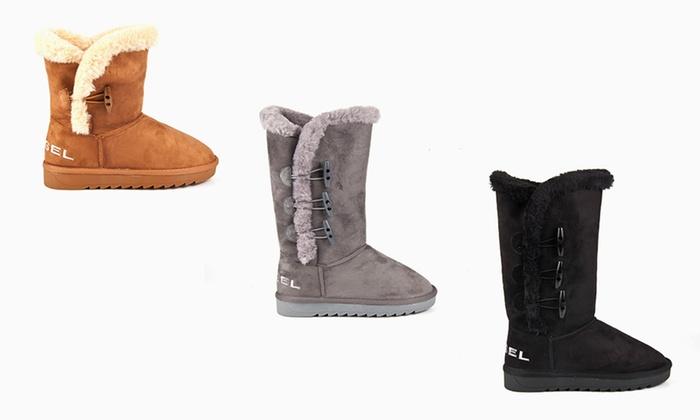 76fbdbaa602bbb Boots fourrées Diesel pour femme | Groupon Shopping